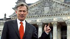 Bereit für die zweite Amtszeit: Horst Köhler bleibt Präsident