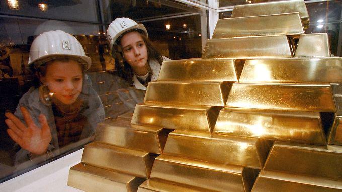 Güldener Glanz in aller Augen: Gold wird teurer und teurer.