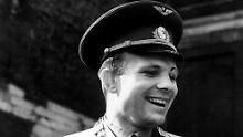Die gute alte Zeit: In der Raumkapsel Wostok umkreiste Juri Gagarin am 12.04.1961 die Erde.