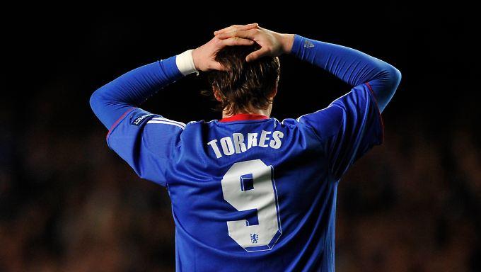 """Seit seiner Zeit bei Atletico Madrid, wo er vom Talent zum Topstürmer reifte, heißt Fernando Torres """"El Nino"""". In London ist dem Kind der Killerinstinkt vor dem Tor abhanden gekommen."""