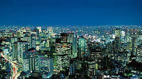 Tokios Skyline ist und bleibt eine der eindrucksvollsten der Welt.