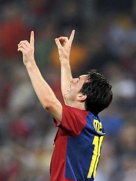 Kurz und gut: Lionel Messi.