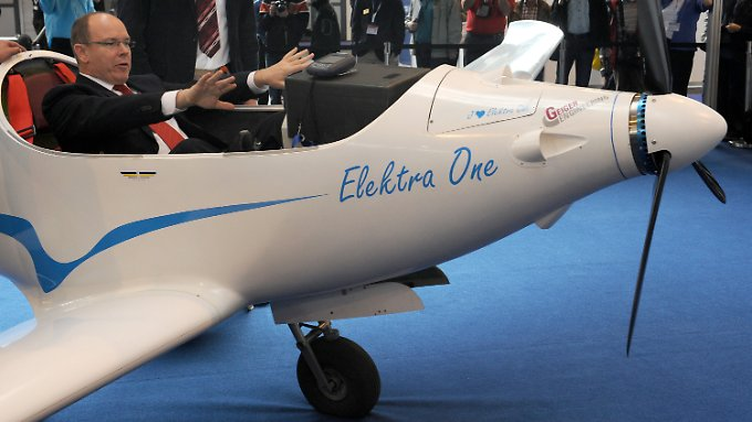 """Luftfahrtmesse """"Aero"""" in Friedrichshafen: Alternative Antriebe sind die Highlights"""