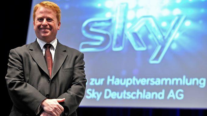 Brian Sullivan räumt bei Sky Deutschland kräftig auf.