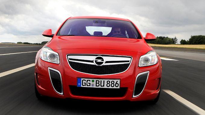 Der Opel Insignia OPC erreicht nun 270 km/h.