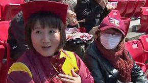 Ein Stück Normalität: Japans Baseballer muntern auf