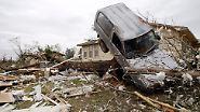 Viele Tote, Stromausfall, Notstand: Tornados fegen über die USA