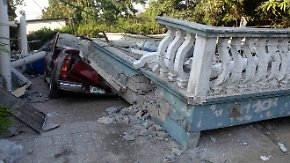 Erdbeben in Honduras: Viele Gebäude eingestürzt