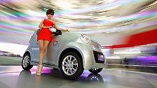 Shanghai zeigt Autos: Chrom für China