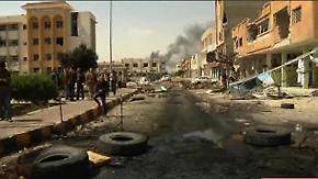 Trotz angekündigten Rückzugs: Misrata erneut unter Beschuss