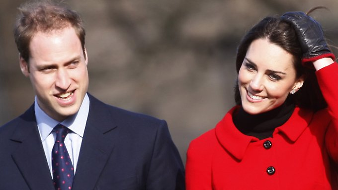 Vorsicht ist die Mutter der Porzellankiste: William und Kate.