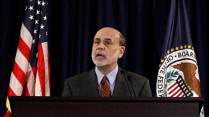 Vor dieser historischen Pressekonferenz soll Fed-Chef Ben Bernanke angeblich extra ein Medientraining absolviert haben.