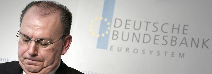 Abschied von der Bundesbank: Axel Weber.