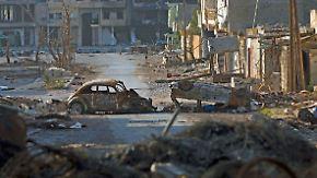 Angst und Panik in Libyen: Misrata heiß umkämpft