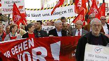 """""""Tag der Arbeit 2010"""" in Essen: Relikt aus vergangenen Zeiten?"""