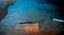 Das Gehäuse der Black Box - zunächst fehlte das Speichermodul.
