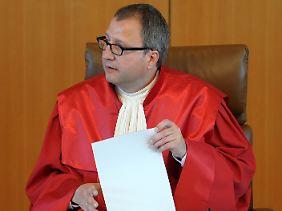 Voßkuhle kritisiert die Arbeitsüberlastung.