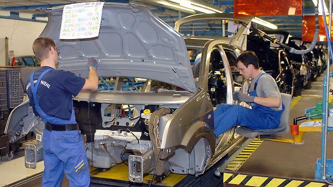 Auftragsänderungen durch den Kunden sind bisher bis etwa eine Woche vor Produktionsbeginn möglich.