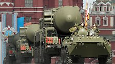 Mächtige Militär-Parade: Russen feiern Sieg über Nazi-Deutschland