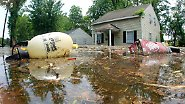 """""""Dieses Wasser ist gefährlich"""": Furcht vor Mississippi-Flut"""