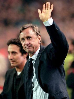 Mit ihm schaffte Barca in den 1970er den Machtwechsel in Spanien: Johan Cruyff.