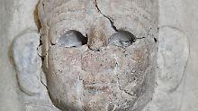 Bisher stand die Sphinx im Berliner Pergamon-Museum.