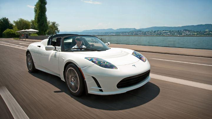 Der Tesla Roadster müsste ein Auto nach dem Geschmack von Greenpeace sein - denn es fährt elektrisch und ist teuer.