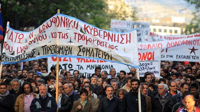 Skeptischer Blick nach Griechenland: Wie reformfähig ist der Pleitekandidat?