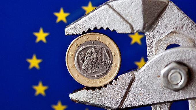 Griechenland ist das größte Sorgenkind in der Euro-Zone.