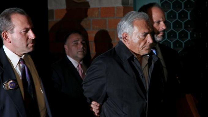 Strauss-Kahn befindet sich seit dem 15. Mai in Gewahrsam.