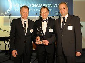 Die Hidden Champions 2011: Christian, Thomas und Michael Wurst (v.l.n.r.).