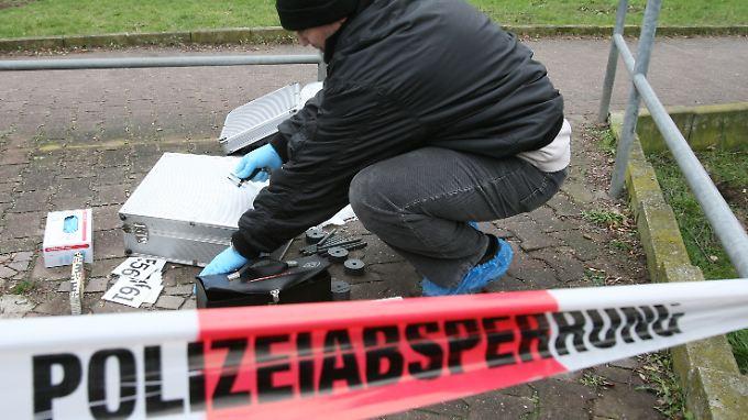 Spurensicherung am Tatort.