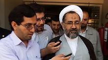 Der iranische Geheimdienstminister Heydar Moslehi.