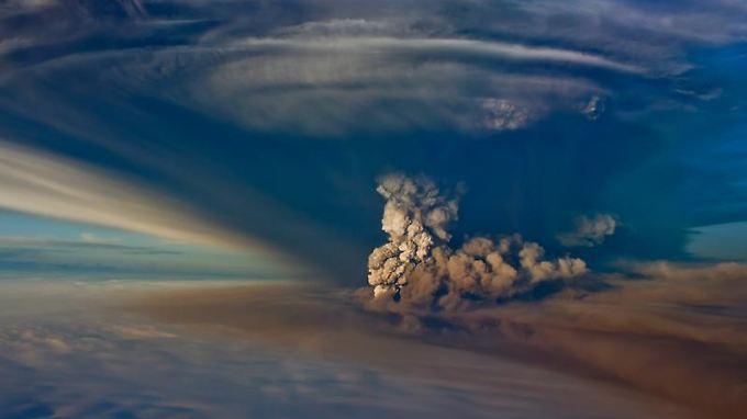 Ein massiver Ausstoß von Kohlendioxid und Methan durch einen Vulkanausbruch soll die Ursache der dramatischen Klimaveränderung vor 250 Millionen Jahren sein.