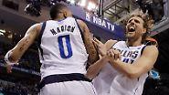 Nur noch ein Schritt bis zum NBA-Titel: Nowitzki auf dem Weg zum Olymp