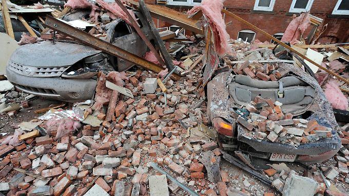 In Springfield hinterließ der Tornado schwere Zerstörungen.