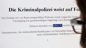 Ende des Internetportals für Raubkopien: Deutsche Polizei schaltet kino.to ab