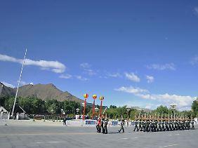 """Vor 60 Jahren, am 23. Mai 1951, wurde das Abkommen über die """"friedliche Befreiung Tibets"""" unterzeichnet."""