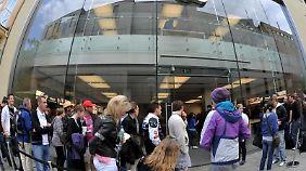 Der Apple-Store in München ist echt.
