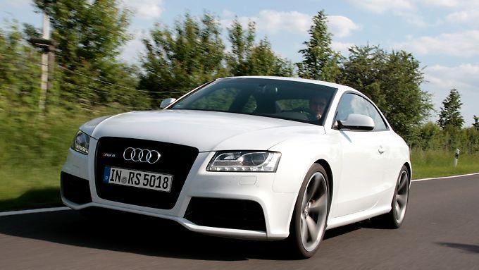 Der heimliche Macho im Audi-Programm: Das RS5-Coupé verwöhnt durch fetten Sound.