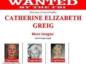 """Captured"" - auch Bulgers Freundin Catherine Greig ging den Fahndern ins Netz."