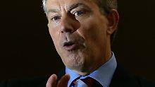 Opfer eines Hackerangriffs: der ehemalige britische Premier Tony Blair.
