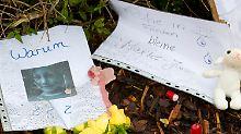 Soko fahndet nach dem Mörder: Zella-Mehlis trauert um Mary-Jane