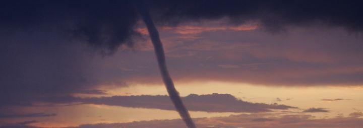 Von windig bis katastrophal: Tornados und andere Wirbelstürme