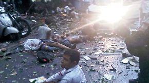 Tote und Verletzte in Indien: Anschlagserie erschüttert Mumbai