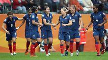 Frankreichs Fußball-Frauen haben sich bei der WM in die Herzen der heimischen Öffentlichkeit gespielt.