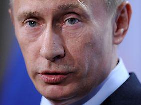 Wladimir Putin ist bei den Beratungen nicht dabei.