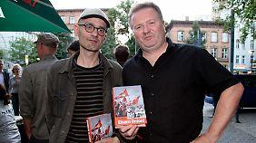 Die Autoren des Buches: Jörn Luther und Frank Willmann (r.)