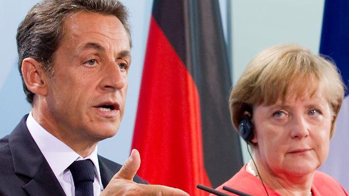 Merkel und Sarkozy besprechen sich: Griechenland-Rettung muss kommen