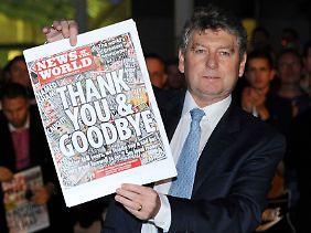 """""""News of the World"""" wurde wegen der Vorwürfe eingestellt."""